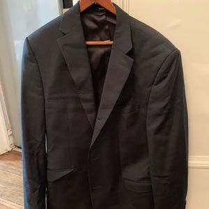 Ralph Lauren Suit Jacket 42R, Pinstriped